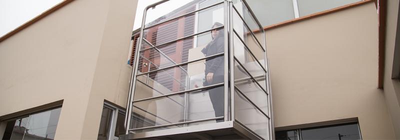 elevador residencial interno